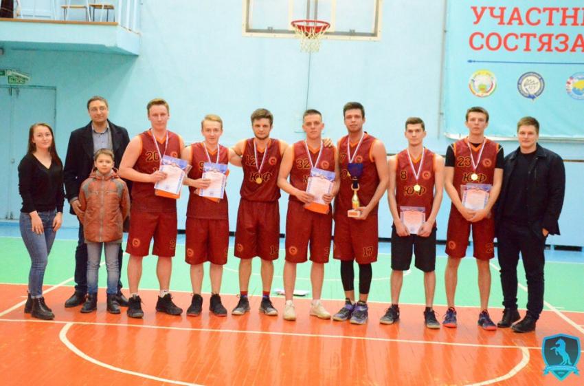 Юристы - чемпионы Спартакиады по баскетболу