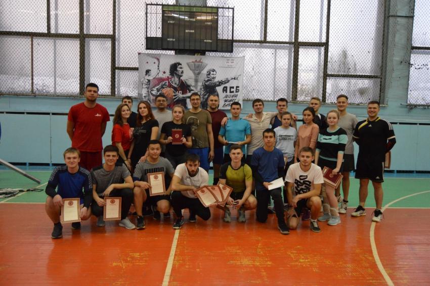 30 ноября прошёл Турнир по волейболу, приуроченный ко Дню юриста